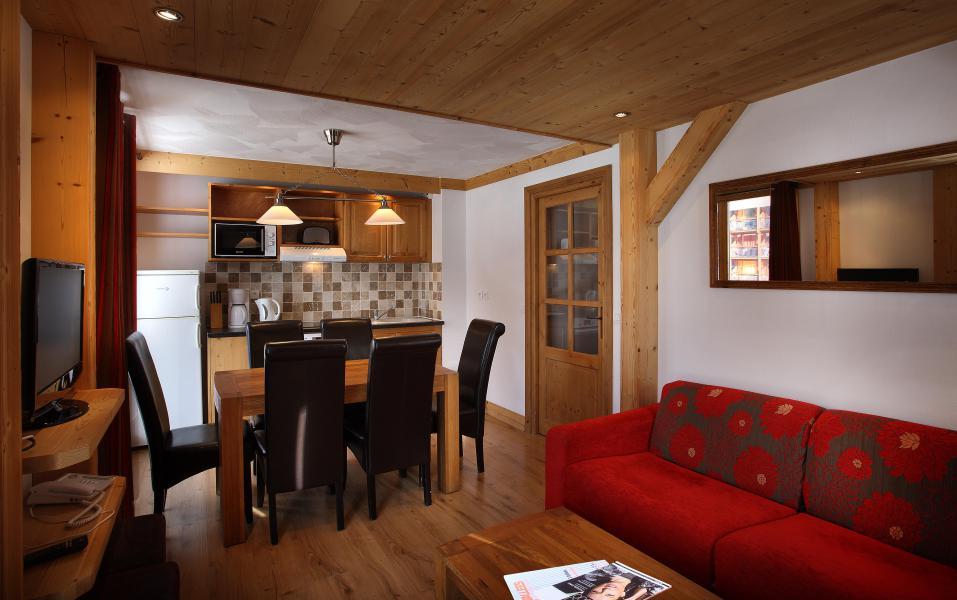 Location au ski Résidence Chalet des Neiges Cîme des Arcs - Les Arcs - Séjour