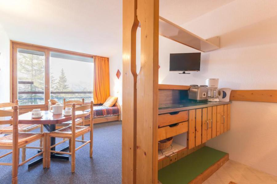 Rent in ski resort Studio sleeping corner 5 people (1169) - Résidence des Lauzières - Les Arcs