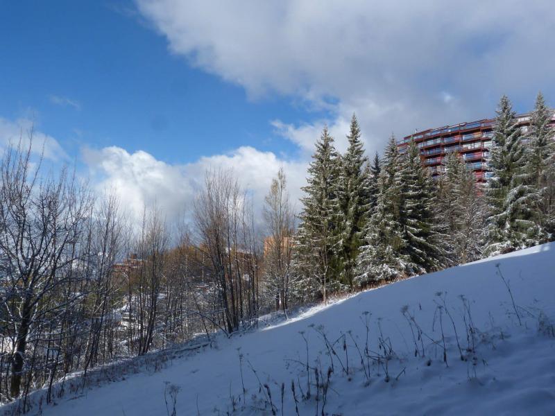 Location au ski Studio 2 personnes (414) - Résidence Grand Arbois - Les Arcs - Extérieur hiver