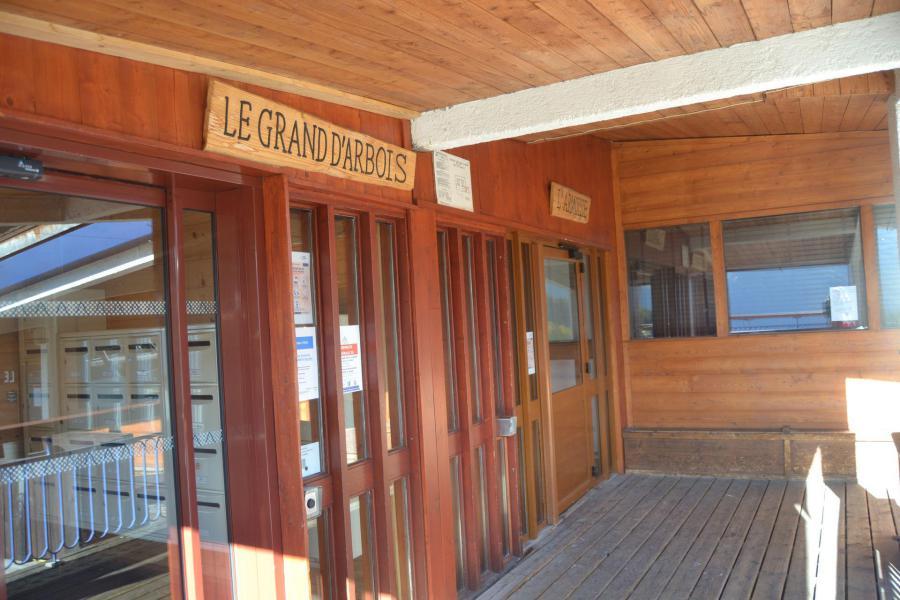 Vacances en montagne Studio 2 personnes (414) - Résidence Grand Arbois - Les Arcs - Extérieur hiver