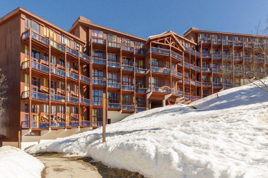 Vakantie in de bergen Résidence l'Aiguille Grive 1 - Les Arcs - Buiten winter