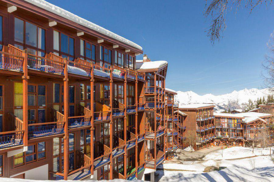 Vakantie in de bergen Résidence l'Aiguille Grive 3 - Les Arcs - Buiten winter