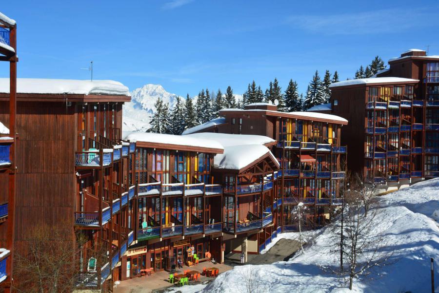 Vakantie in de bergen Appartement duplex 2 kamers 6 personen (3415) - Résidence l'Aiguille Grive 3 - Les Arcs - Buiten winter