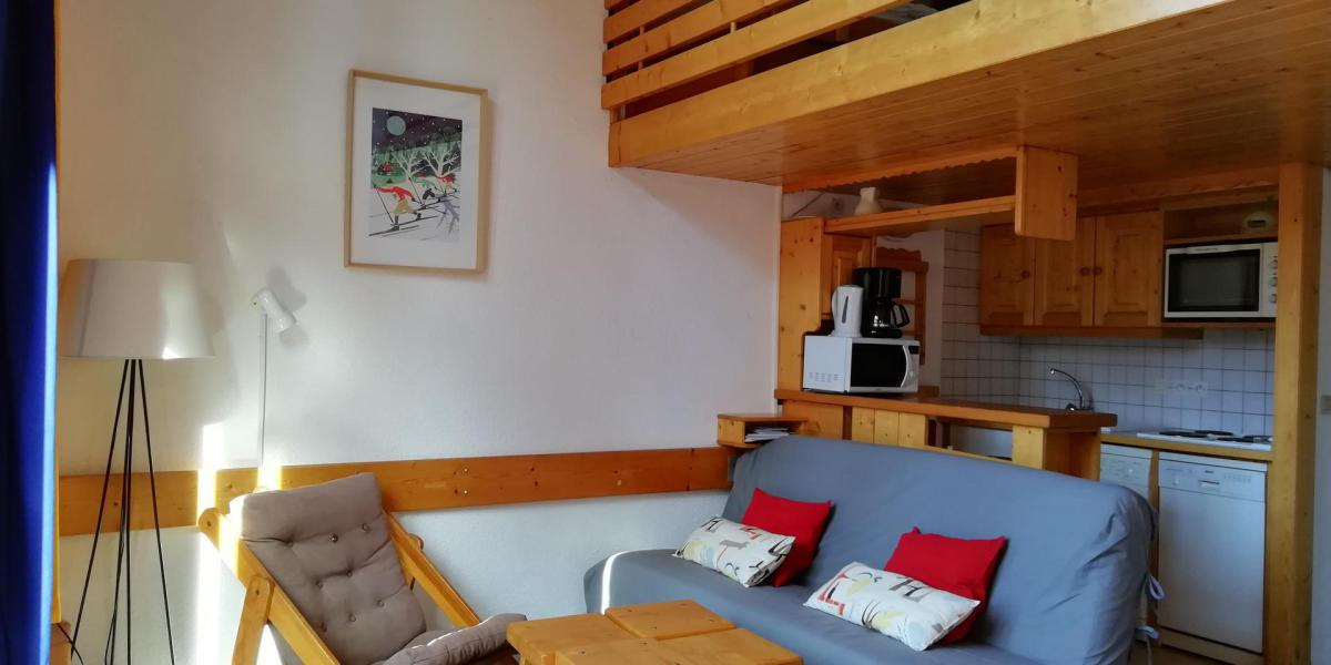Аренда на лыжном курорте Апартаменты 3 комнат 8 чел. (416) - Résidence l'Aiguille Grive Bât I - Les Arcs