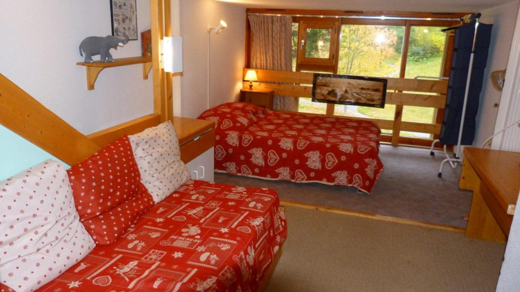 Location au ski Studio coin montagne 5 personnes (204) - Residence L'aiguille Grive Bat Ii - Les Arcs