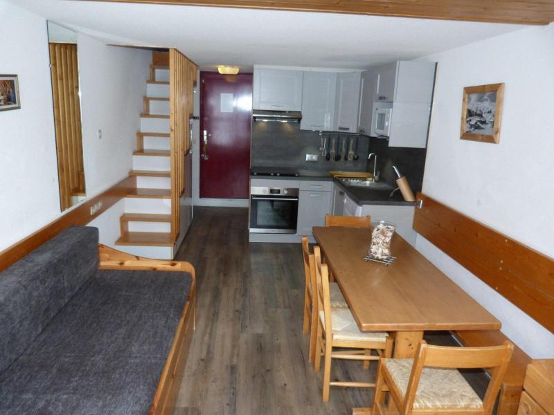 Аренда на лыжном курорте Апартаменты 2 комнат 6 чел. (213) - Résidence l'Aiguille Grive Bât III - Les Arcs