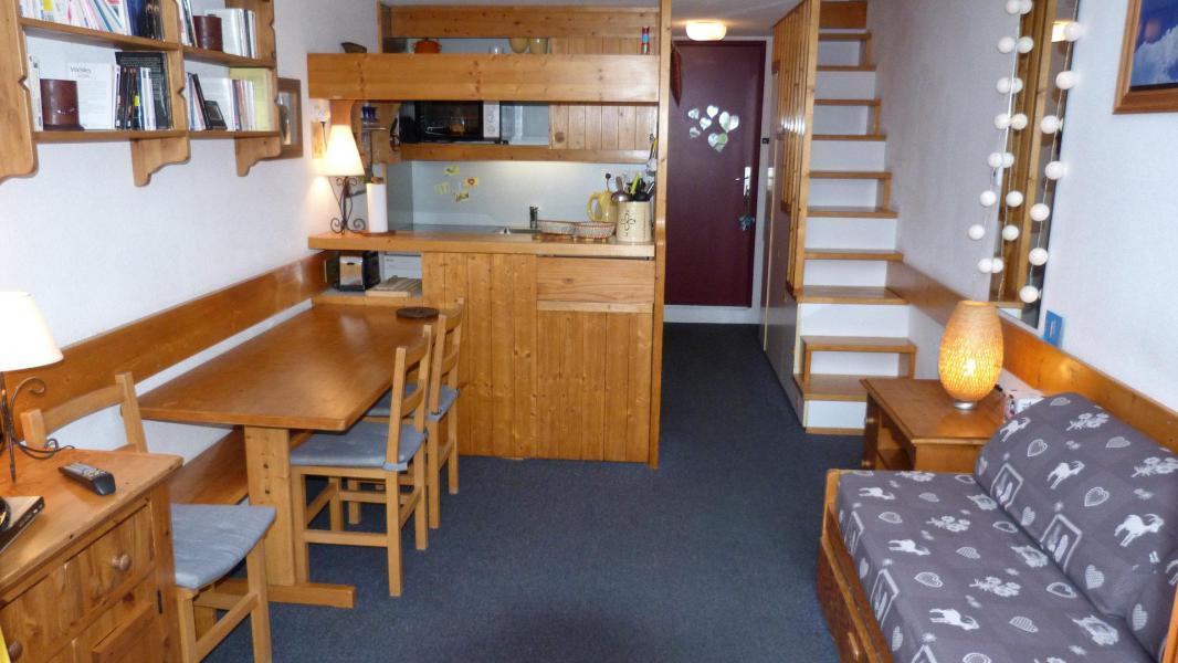 Аренда на лыжном курорте Апартаменты 2 комнат 6 чел. (618) - Résidence l'Aiguille Grive Bât III - Les Arcs