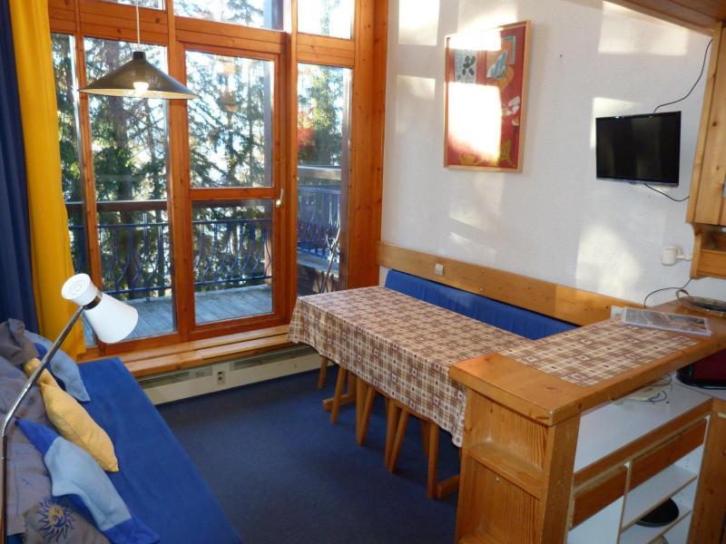 Location au ski Studio duplex 5 personnes (202) - Résidence l'Alliet - Les Arcs - Appartement