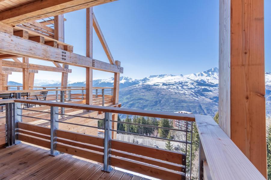 Location au ski Appartement 4 pièces 8 personnes (B42) - Résidence L'Ecrin - Les Arcs - Extérieur hiver