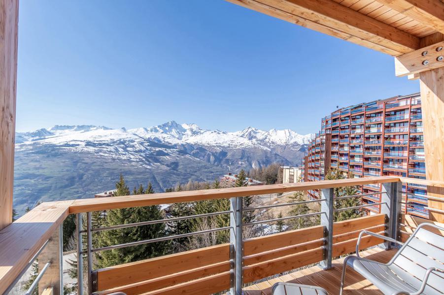 Location au ski Appartement 4 pièces 8 personnes (B41) - Résidence L'Ecrin - Les Arcs - Extérieur hiver