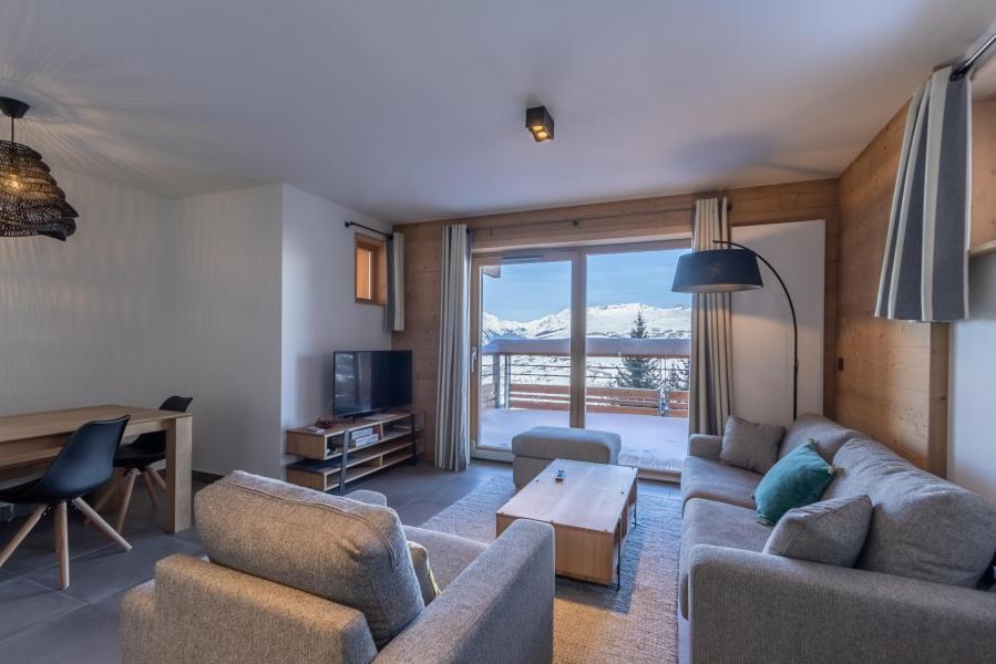 Location au ski Appartement 4 pièces 8 personnes (B21) - Résidence L'Ecrin - Les Arcs - Canapé