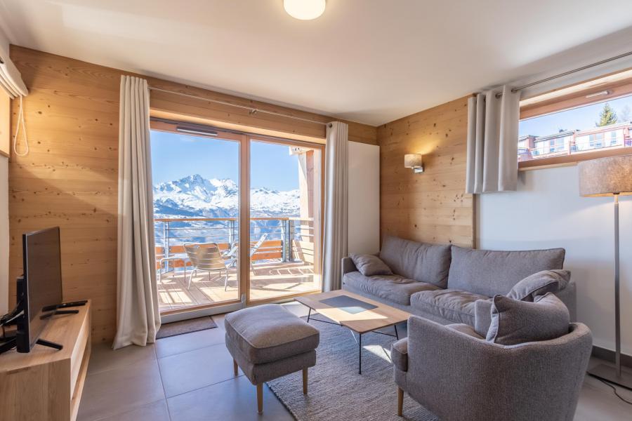 Location au ski Appartement 4 pièces 8 personnes (B41) - Résidence L'Ecrin - Les Arcs - Séjour