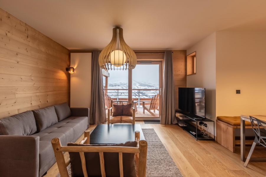 Location au ski Appartement 4 pièces 8 personnes (B42) - Résidence L'Ecrin - Les Arcs - Appartement