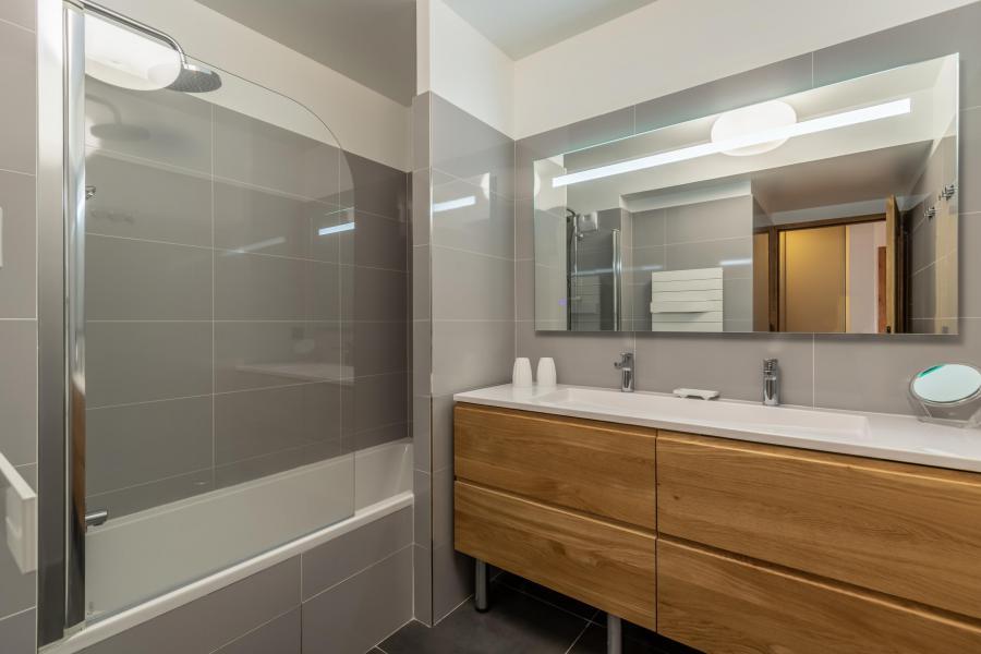Location au ski Appartement 4 pièces 8 personnes (B42) - Résidence L'Ecrin - Les Arcs - Baignoire