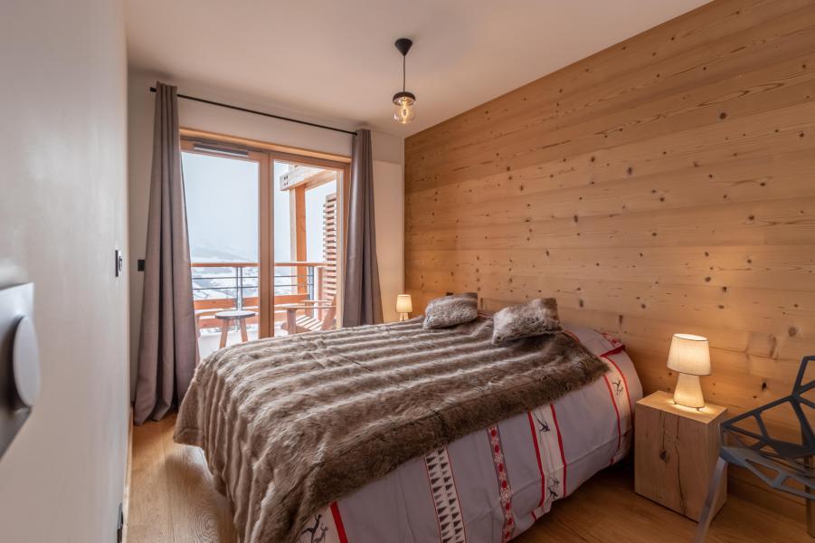 Location au ski Appartement 4 pièces 8 personnes (B42) - Résidence L'Ecrin - Les Arcs - Chambre