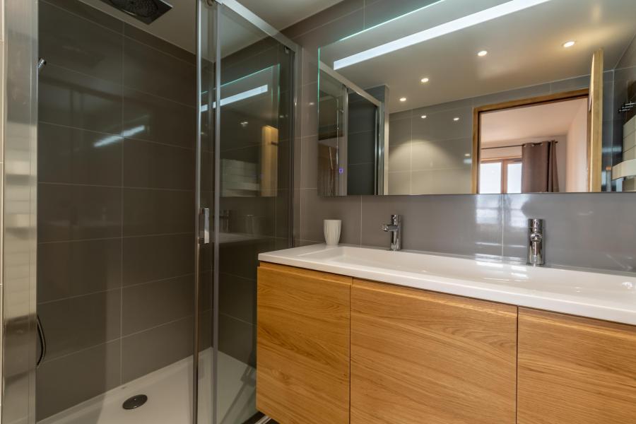 Location au ski Appartement 4 pièces 8 personnes (B42) - Résidence L'Ecrin - Les Arcs - Salle d'eau