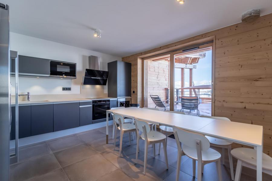 Location au ski Appartement duplex 5 pièces 10 personnes (B52) - Résidence L'Ecrin - Les Arcs - Cuisine ouverte