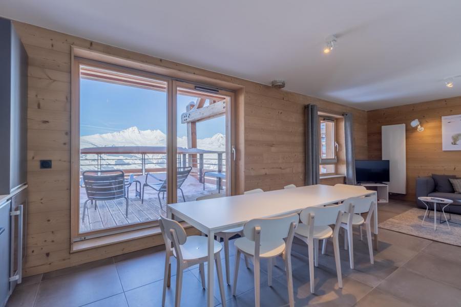 Location au ski Appartement duplex 5 pièces 10 personnes (B52) - Résidence L'Ecrin - Les Arcs - Salle à manger