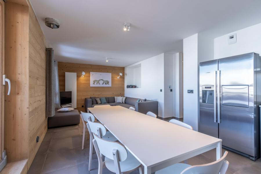 Location au ski Appartement duplex 5 pièces 10 personnes (B52) - Résidence L'Ecrin - Les Arcs - Table