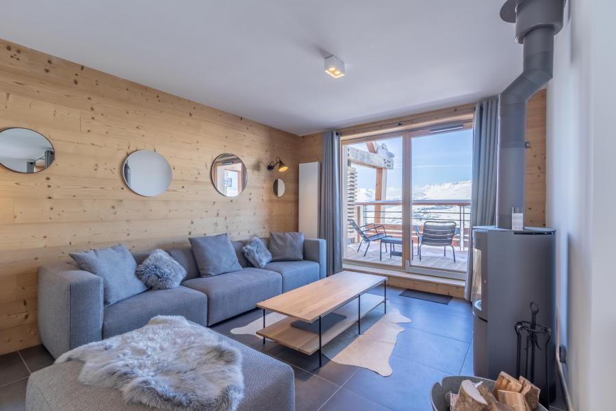Location au ski Appartement duplex 6 pièces 12 personnes (A51) - Résidence L'Ecrin - Les Arcs - Séjour