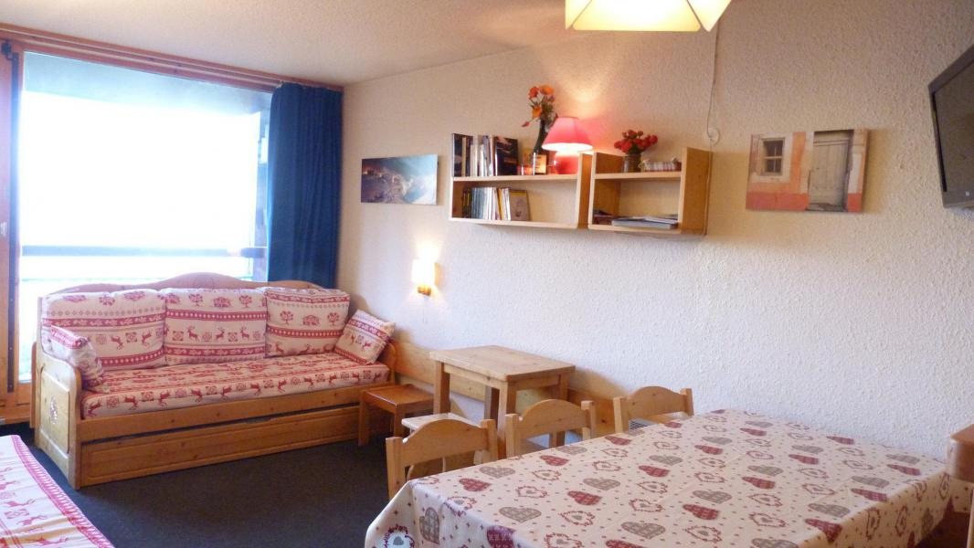 Аренда на лыжном курорте Апартаменты 2 комнат 6 чел. (124) - Résidence la Nova - Les Arcs