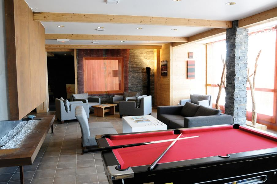 Location au ski Residence Lagrange Le Roc Belle Face - Les Arcs - Billard