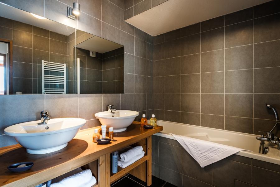 Location au ski Residence Lagrange Le Roc Belle Face - Les Arcs - Salle de bains