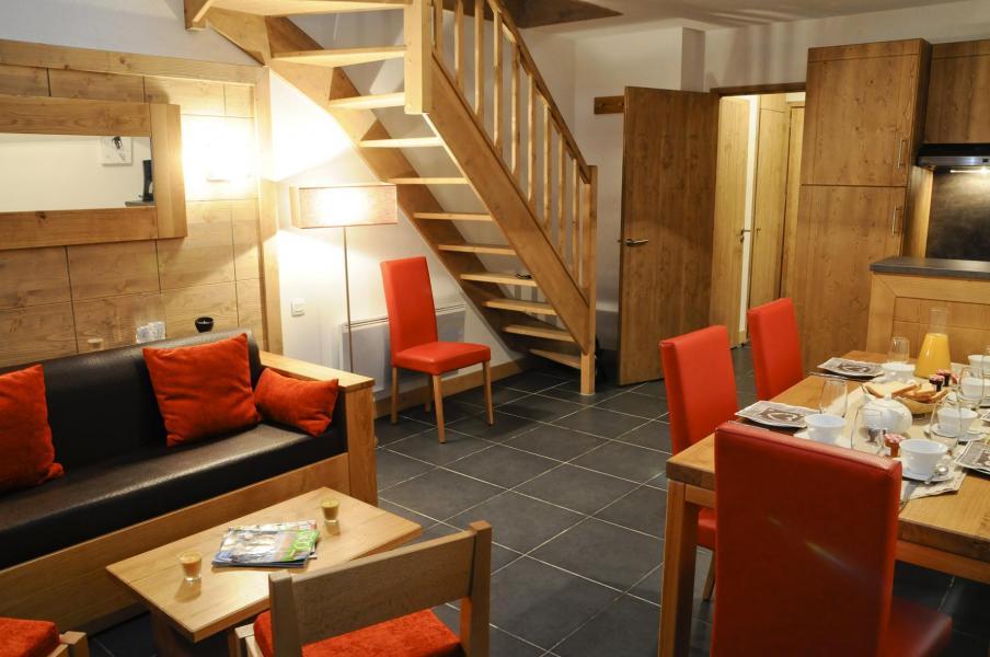 Location au ski Residence Lagrange Le Roc Belle Face - Les Arcs - Séjour