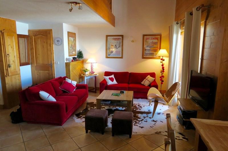 Wynajem na narty Apartament 4 pokojowy 8 osób (B18) - Résidence le St Bernard - Les Arcs - Pokój gościnny