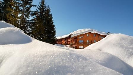 Vacaciones en montaña Résidence les Alpages de Chantel - Les Arcs - Invierno