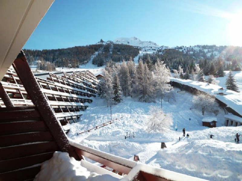 Location au ski Studio 4 personnes (3021) - Résidence les Arolles - Les Arcs - Extérieur hiver