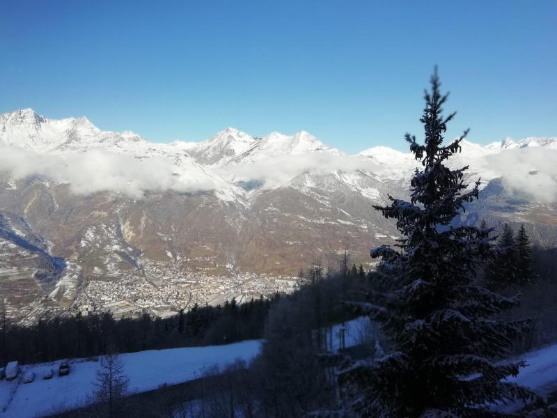 Location au ski Appartement 2 pièces 6 personnes (AR3038R) - Résidence les Arolles - Les Arcs - Extérieur hiver
