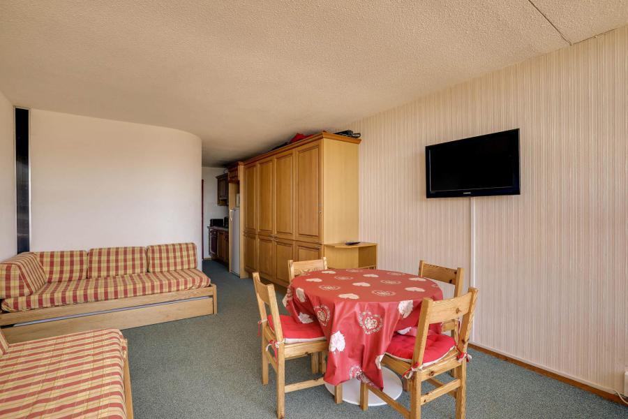 Location au ski Studio 4 personnes (3021) - Résidence les Arolles - Les Arcs - Séjour
