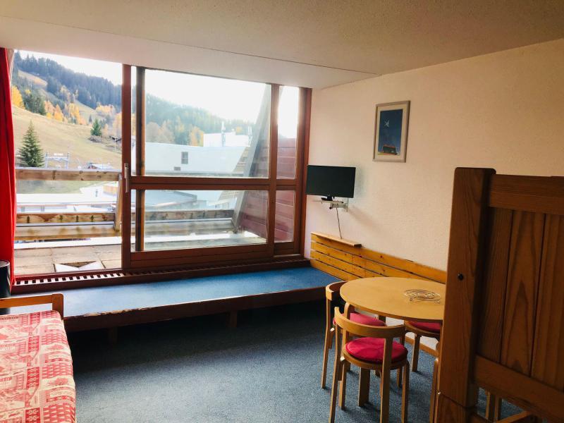 Location au ski Studio 4 personnes (3089) - Résidence les Arolles - Les Arcs - Séjour