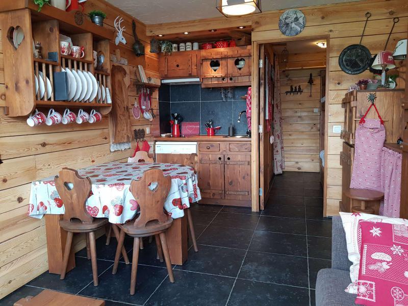 Location au ski Studio 3 personnes (372) - Residence Les Charmettes - Les Arcs