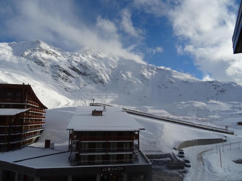 Location au ski Résidence les Lanchettes - Les Arcs - Extérieur hiver
