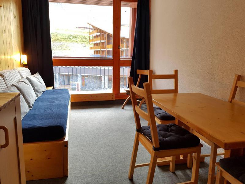 Location au ski Studio coin montagne 3 personnes (203) - Residence Les Lanchettes - Les Arcs - Extérieur hiver