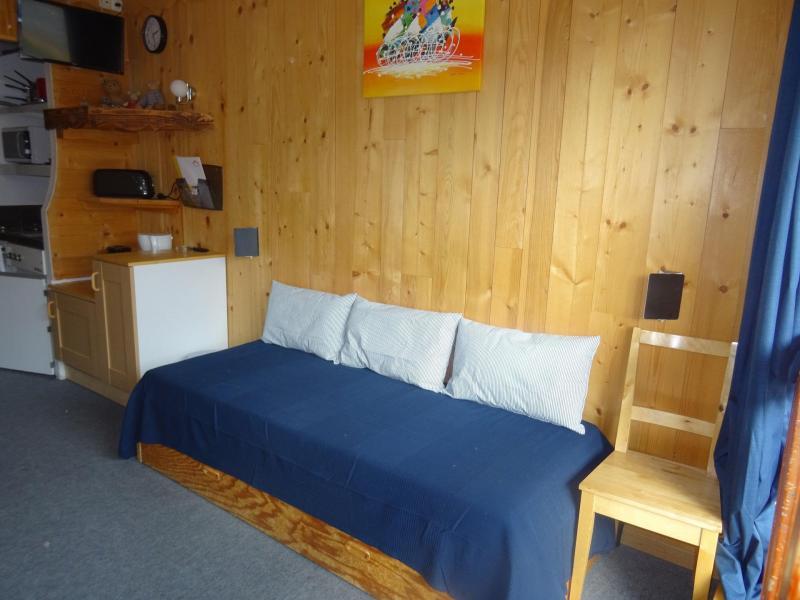 Location au ski Studio coin montagne 3 personnes (203) - Residence Les Lanchettes - Les Arcs - Canapé