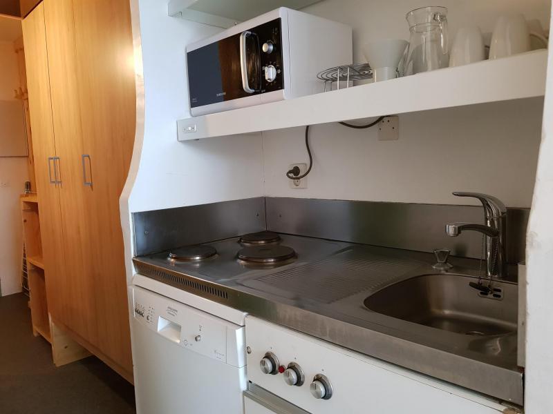 Location au ski Studio coin montagne 3 personnes (203) - Residence Les Lanchettes - Les Arcs - Kitchenette