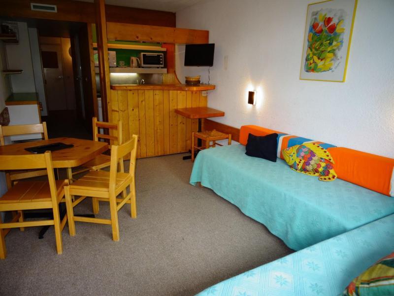 Location au ski Studio coin montagne 5 personnes (052) - Résidence les Lauzières - Les Arcs