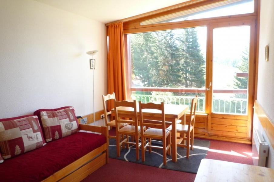 Location au ski Studio coin montagne 5 personnes (604) - Résidence les Lauzières - Les Arcs - Extérieur hiver