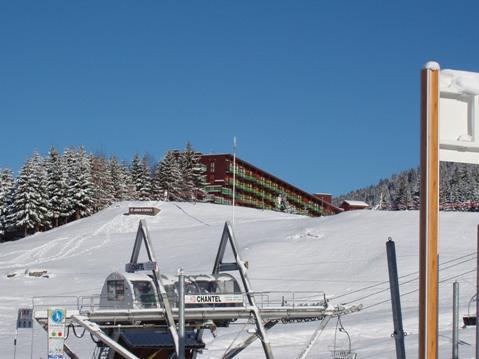 Location au ski Studio coin montagne 5 personnes (1373) - Résidence les Lauzières - Les Arcs