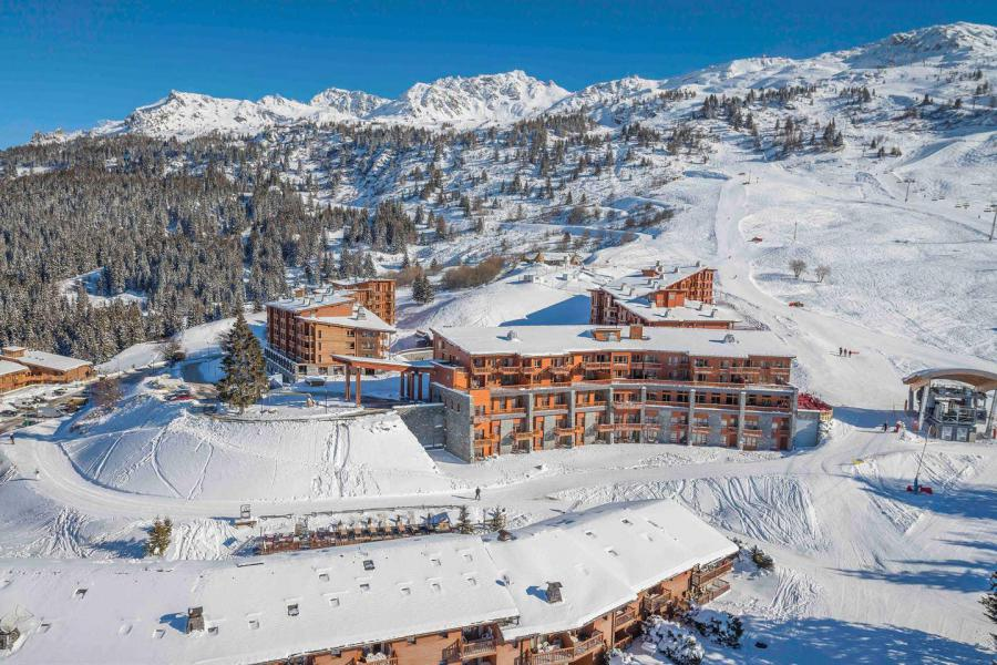 Каникулы в горах Résidence les Monarques - Les Arcs - зимой под открытым небом