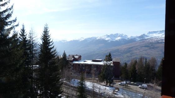 Location au ski Studio mezzanine 5 personnes (224) - Résidence Mirantin 2 - Les Arcs - Extérieur hiver