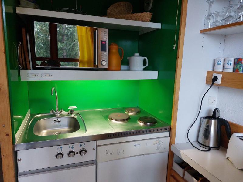 Location au ski Studio mezzanine 5 personnes (224) - Résidence Mirantin 2 - Les Arcs