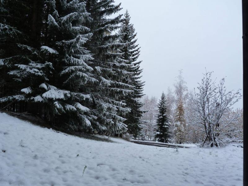 Location au ski Studio mezzanine 4 personnes (203) - Résidence Mirantin 2 - Les Arcs - Extérieur hiver