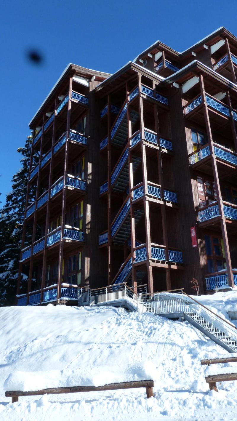 Vacances en montagne Résidence Mirantin 2 - Les Arcs - Extérieur hiver