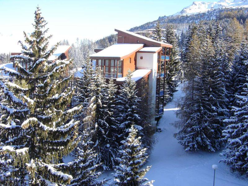 Location au ski Résidence Mirantin 2 - Les Arcs - Extérieur hiver