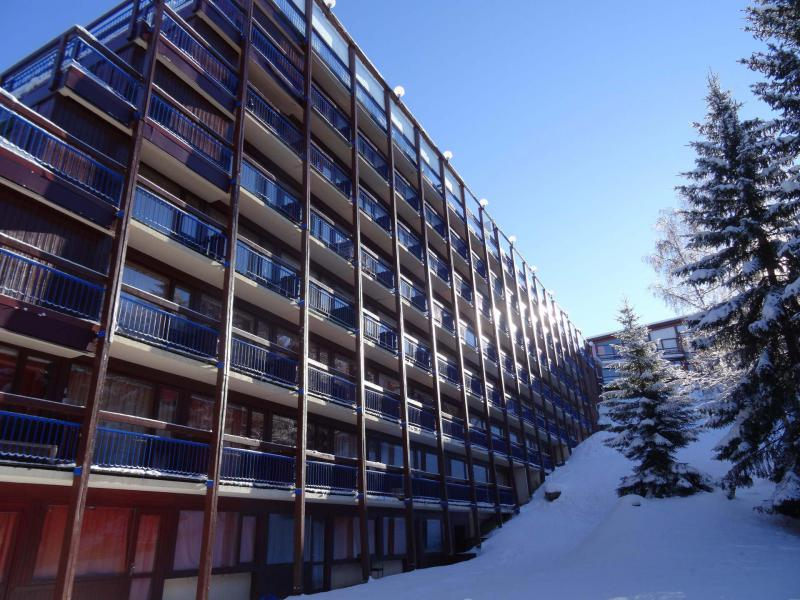 Skiverleih Résidence Miravidi - Les Arcs - Draußen im Winter