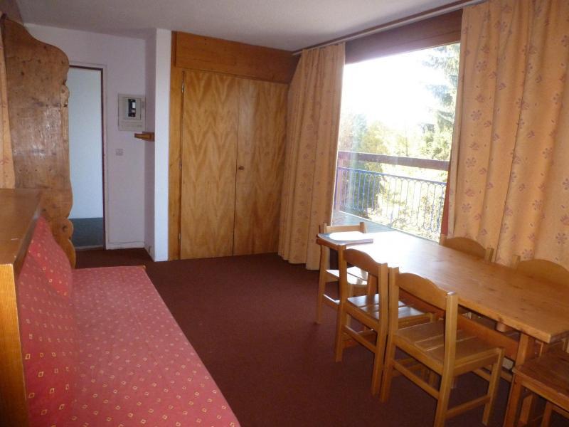 Location au ski Appartement 3 pièces 7 personnes (202) - Résidence Miravidi - Les Arcs - Coin repas